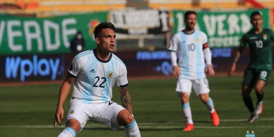 Hasil Kualifikasi Piala Dunia 2022 - Messi Absen Bikin Gol, Argentina Menang di Atas Gunung