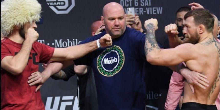 Dana White: Conor McGregor v Khabib Nurmagomedov II Bisa Pecahkan Rekor