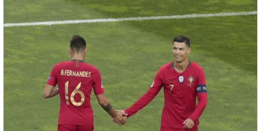 Link Live Streaming Portugal vs Andorra - Mangsa Empuk Cristiano Ronaldo