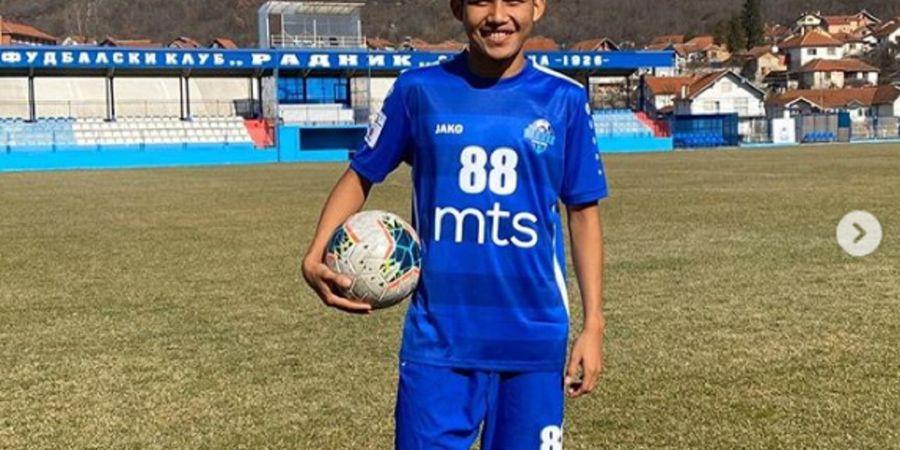 Bintang Timnas U-19 Indonesia Witan Sulaeman Hilang Lagi, Radnik Surdulica Gigit Jari