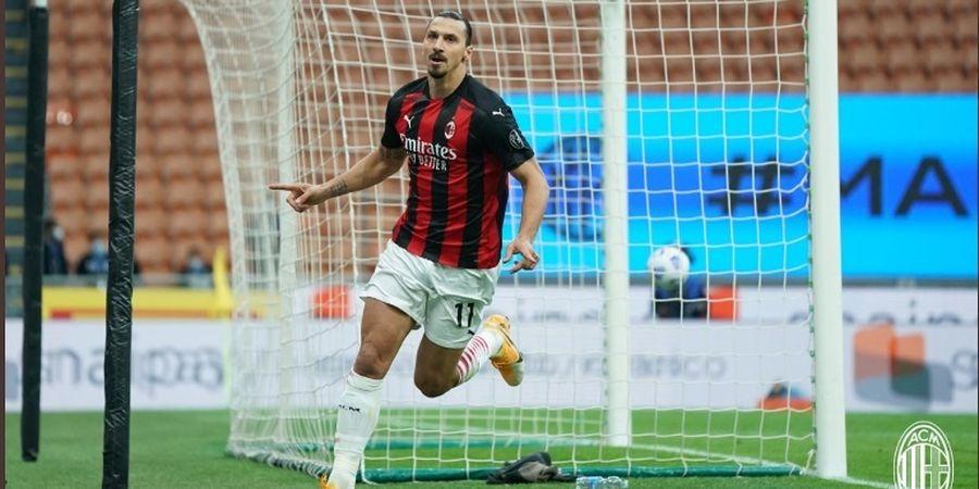 Jadi Pahlawan di Derbi Milan, Zlatan Ibrahimovic Sindir Romelu Lukaku