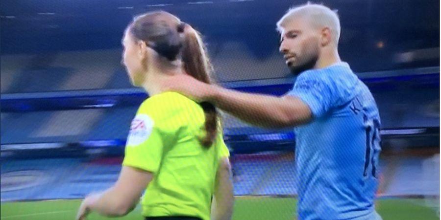 Sergio Aguero Samai Pep Guardiola Terlibat Tuduhan Pelecehan Seksual Usai Rangkul Wasit Wanita
