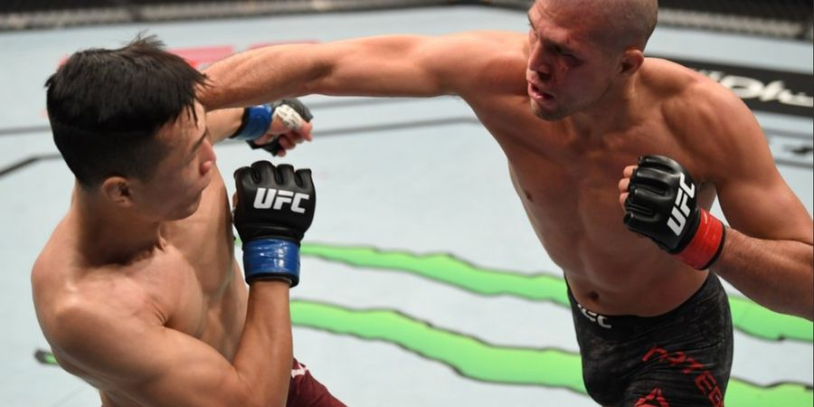 Respons Zombi Korea setelah Tewas oleh Si Gundul pada UFC Fight Island 6