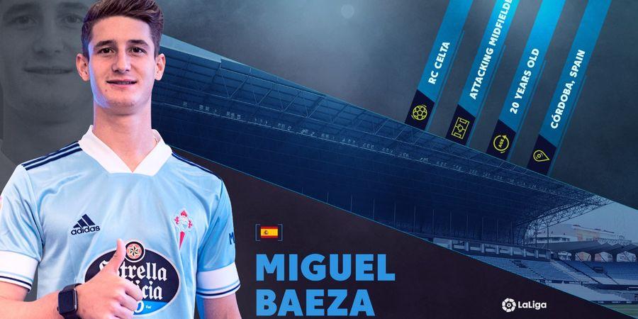 Rising Stars LaLiga - Miguel Baeza: Jebolan Real Madrid, Debut di Celta Vigo