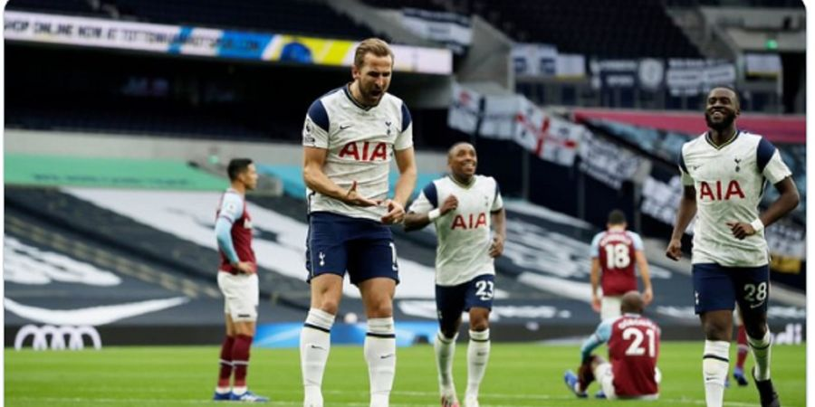 VIDEO - Harry Kane Kolongin Kapten West Ham dan Cetak Gol, Spurs Gagal Menang