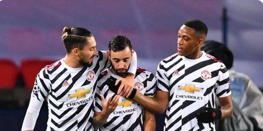 Hasil Liga Champions - Barcelona Menang Telak, PSG Keok dari Manchester United