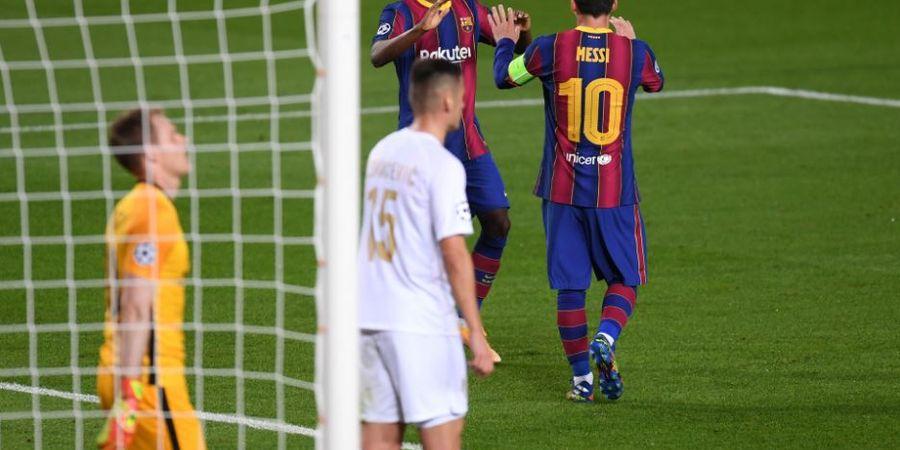 Catatkan Rekor Bersejarah di Liga Champions, Ansu Fati Belajar dari Lionel Messi