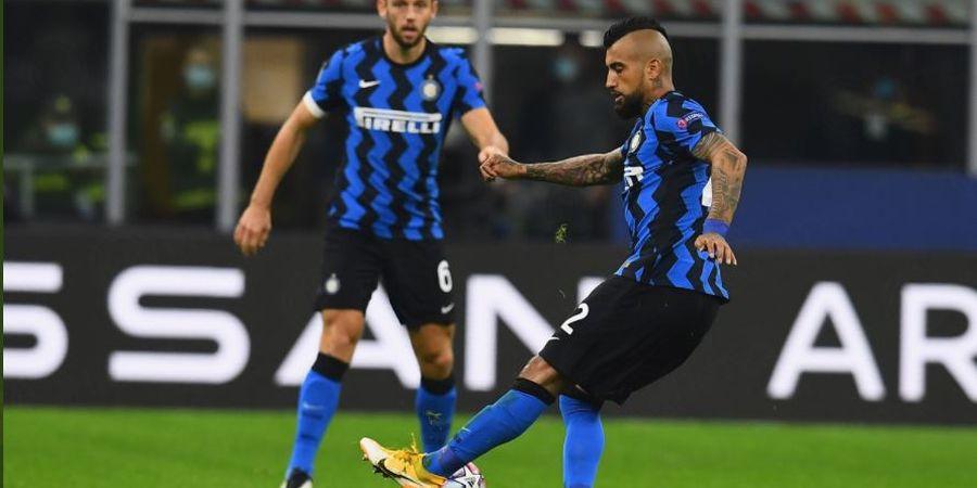 Masa Depan di Inter Milan Tak Jelas, Arturo Vidal Bermimpi Main di Klub Brasil