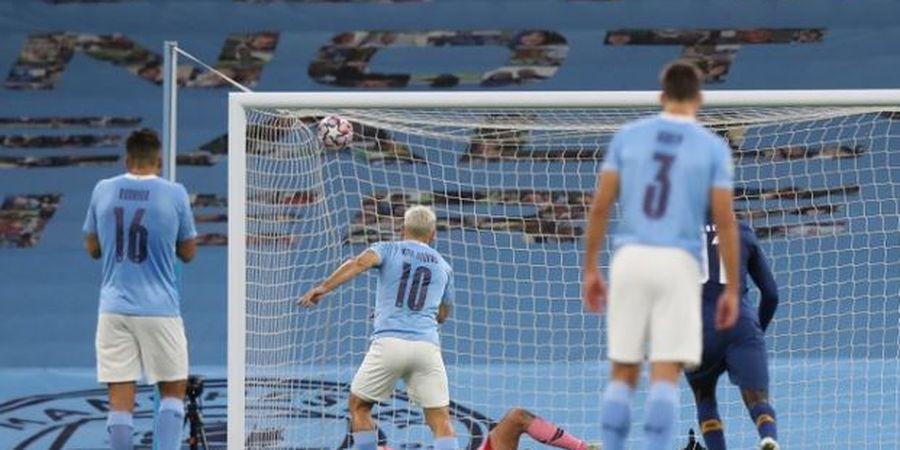 Hasil Liga Champions - Sergio Aguero Akhiri Puasa Terlama, Man City Comeback Cetak 3 Gol