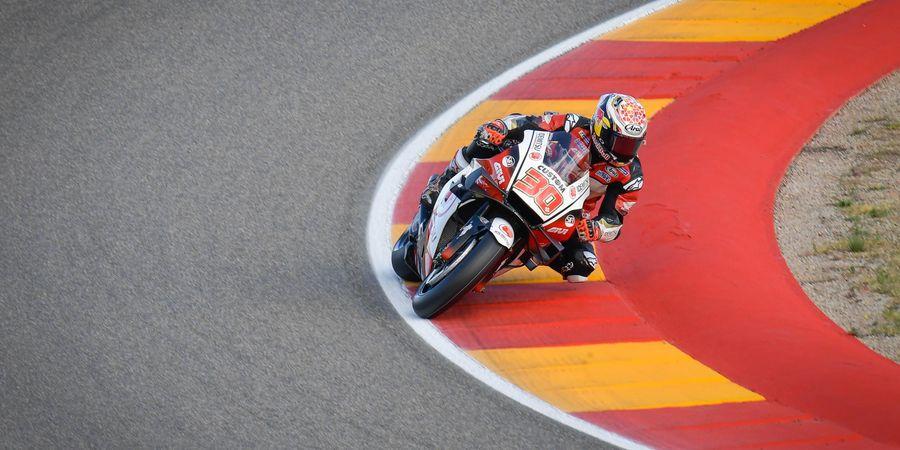 Hasil FP3 MotoGP Spanyol 2021 - Nakagami Tercepat, Marquez Terjatuh, Rossi Cuma Naik 5 Posisi
