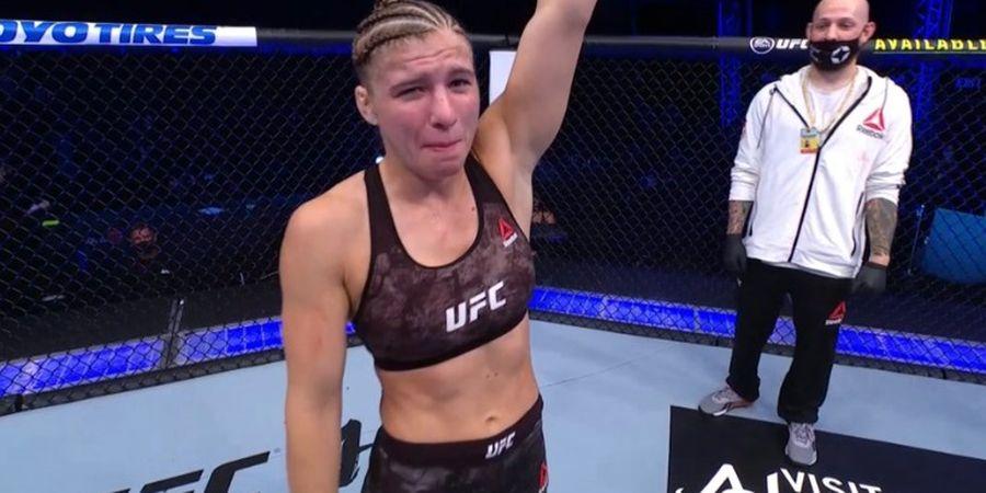 Hasil UFC 254 - Tak Butuh Jurus Andalan, Debutan Miranda Maverick Bikin Remuk Hidung Liana Jojua