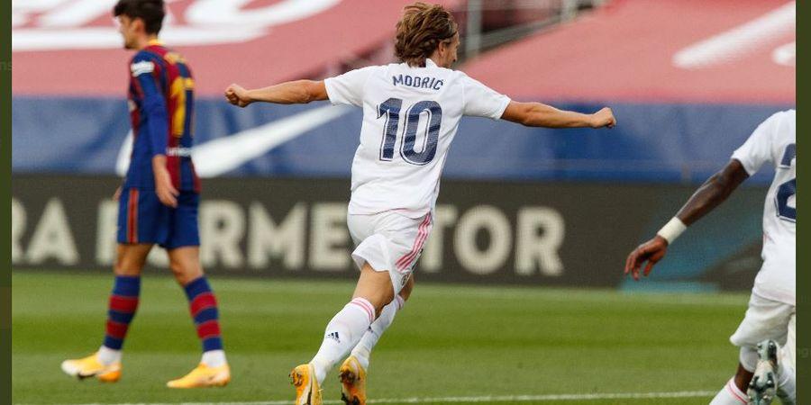 Setelah 12 Percobaan Gagal, Real Madrid Menangi El Clasico Awal Musim