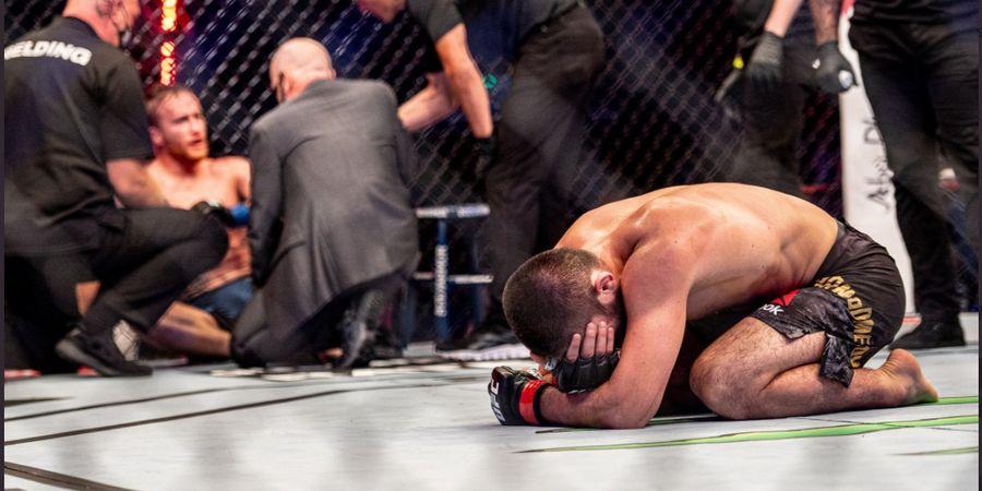 Ngendon di Satu Divisi, Khabib Tidak Pantas Jadi Petarung Nomor Satu UFC