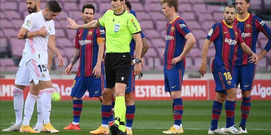 Prediksi Line-up El Clasico Real Madrid Vs Barcelona - Lionel Messi Akan Teror Duet Bek Tengah Baru Los Blancos