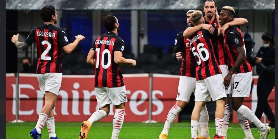 AC Milan Siap Jadi Klub Liga Italia Pertama yang Potong Gaji Pemain