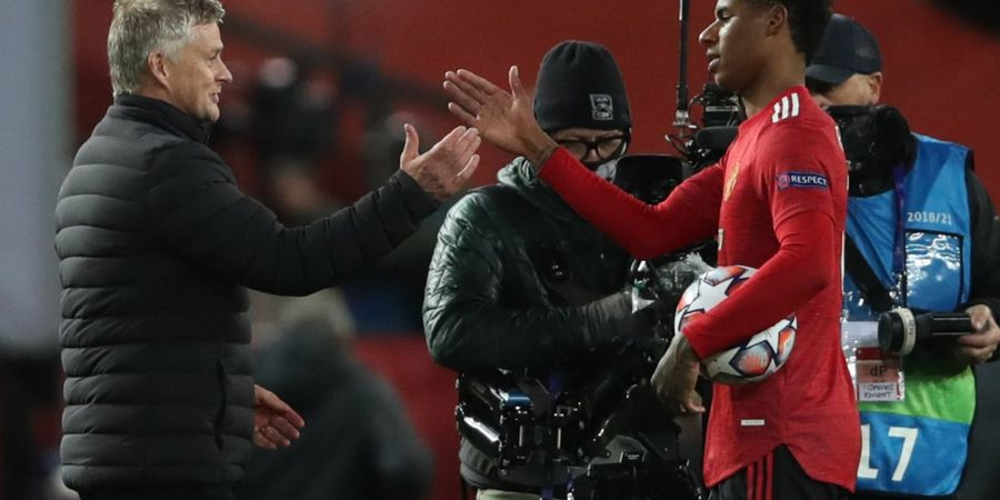 Permalukan RB Leipzig, Marcus Rashford Sedang Bully Adik Kelas