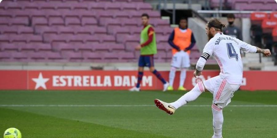 Ngemis Penalti ke Wasit, Sergio Ramos: Tangan Saya Bisa Patah!