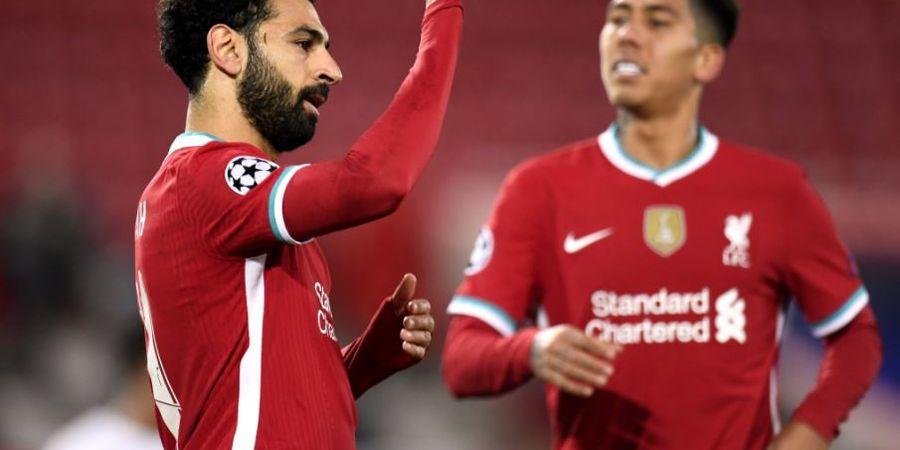 Hasil Liga Champions - Mo Salah Cetak 2 Rekor, Liverpool Ditemani Atalanta ke 16 Besar