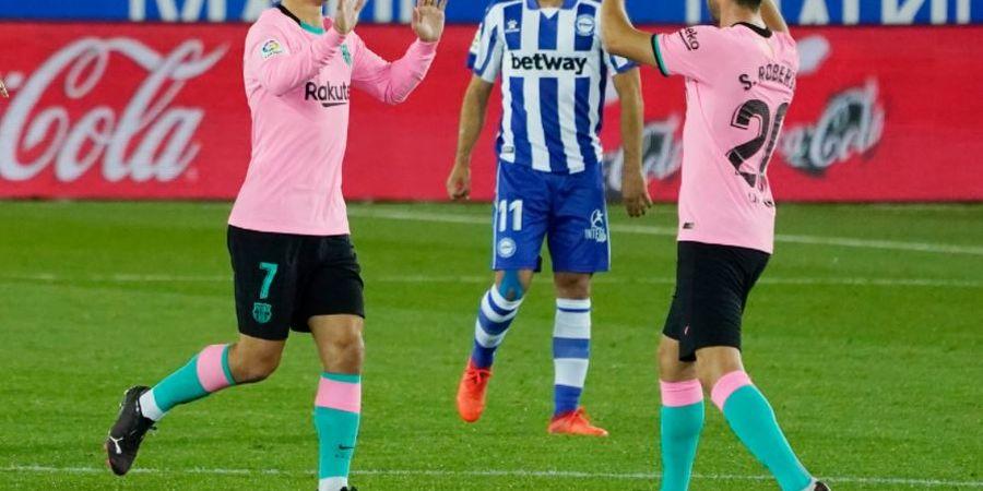 Hasil Liga Spanyol - Antoine Griezmann Akhiri Puasa Gol 3 Bulan, Barcelona Gagal Menang Lagi