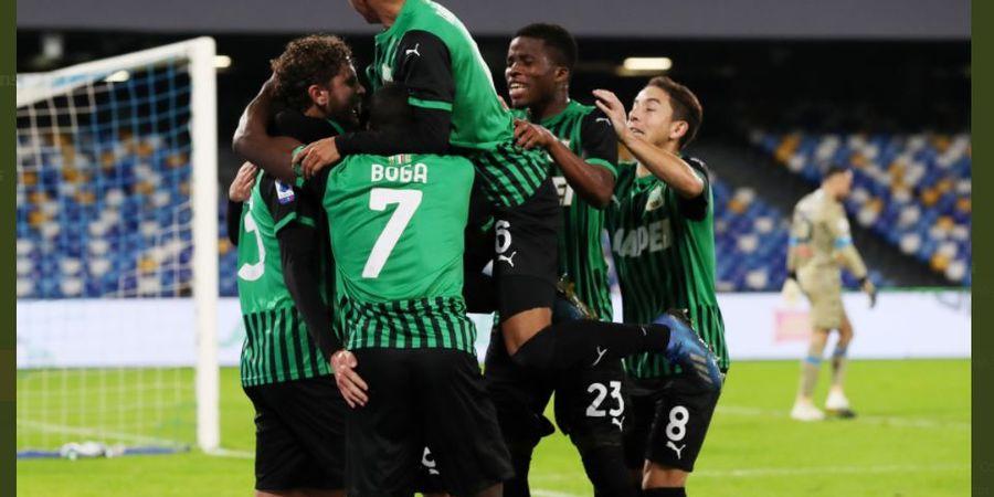 Hasil dan Klasemen Liga Italia - Sassuolo dan Lazio Gila, Jadi Runner-up dan Menang di Menit 98