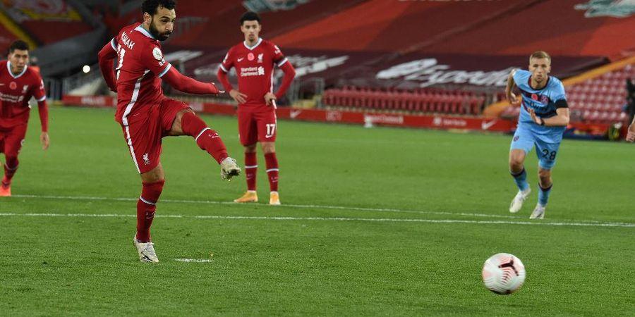Cetak Gol Penalti ke Gawang West Ham United, Mo Salah Dituduh Lecehkan Legenda Man United