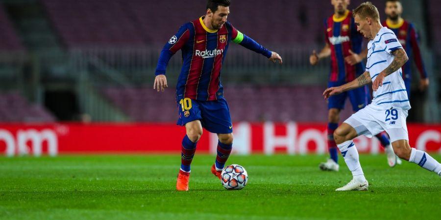 Cuti Tanding di Liga Champions, Lionel Messi Malah Trending Topic