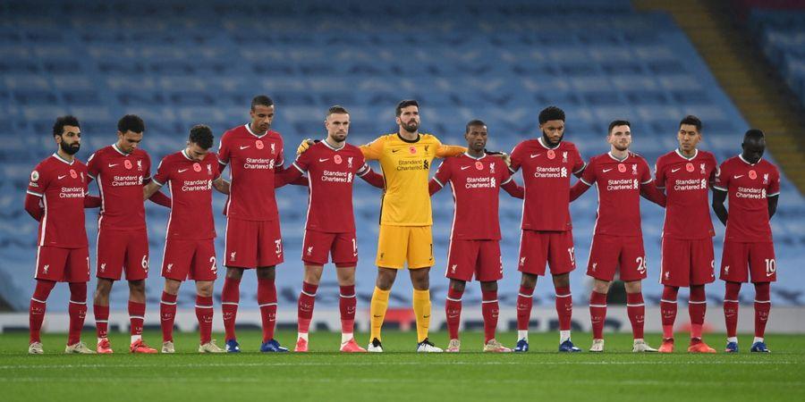 Bintang Liverpool Harus Menepi Enam Pertandingan karena Cedera Betis