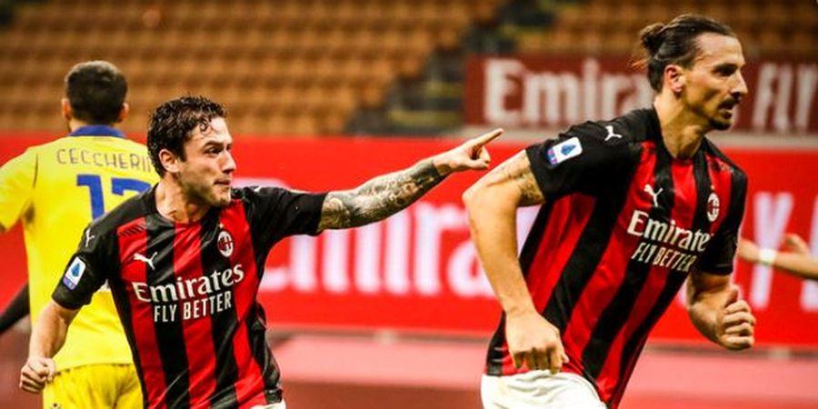 Hasil dan Klasemen Liga Italia - Ibrahimovic Marah Tak Mau Tendang Penalti, Milan di Puncak