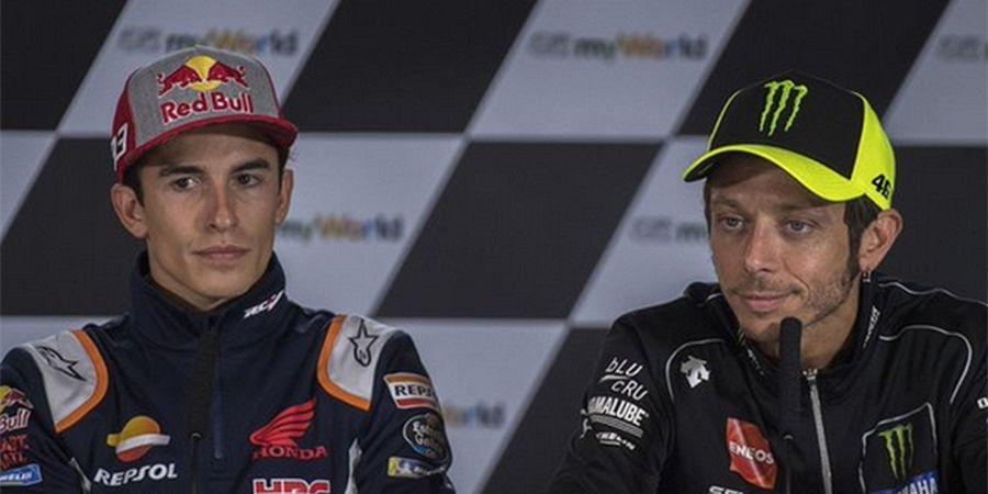 Marc Marquez Sudah Tak Peduli, Ogah Damai dengan Valentino Rossi?