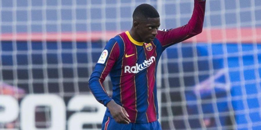 Manchester United dan Arsenal Saling Sikut Dapatkan Ousmane Dembele pada 2021