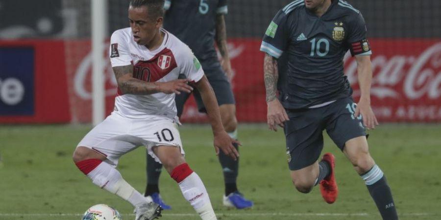 Hasil Peru Vs Argentina - Lionel Messi Masih Kena Kutukan, Albiceleste Menang 2-0