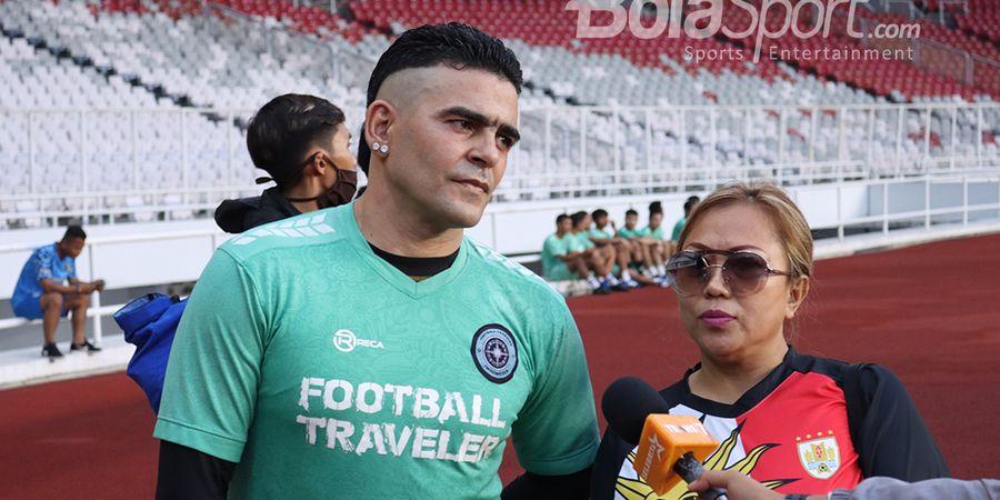 Cristian Gonzales Bicara Pesaing RANS Cilegon FC di Liga 2