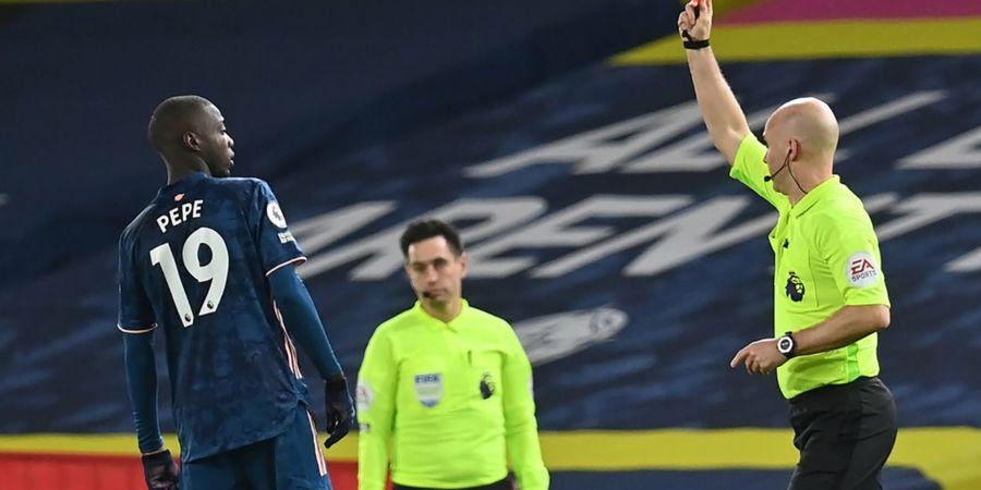 Nicolas Pepe Sampaikan Permohonan Maaf Terkait Insiden Tandukan