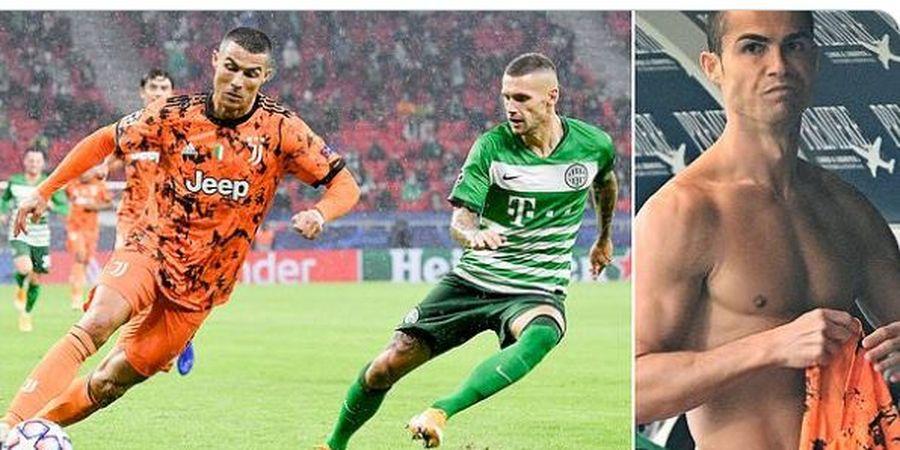 Penyebab Cristiano Ronaldo Tak Mau Tukar Kostum dan Remehkan Pemain Ferencvaros