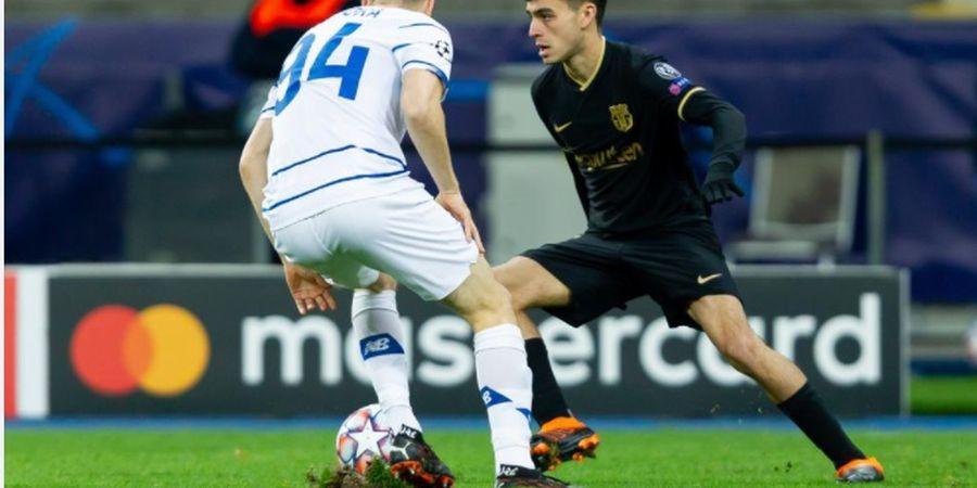 Babak I Dynamo Kyiv vs Barcelona - Tanpa Messi, 1 Shot on Target, 0 Gol