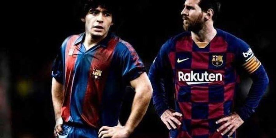Lionel Messi Belum Dianggap Dewa jika Tak Mampu Samai Torehan Diego Maradona bersama Napoli dan Argentina