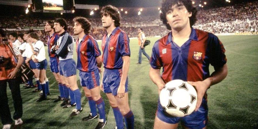 Sisi Kelam Karier Diego Maradona di Barcelona, dari Maniak Pesta hingga Kecanduan Narkoba