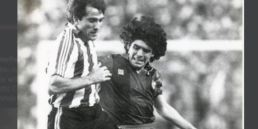 Diego Maradona Meninggal Dunia, Si Tukang Jagal yang Bikin Tulangnya Retak Ikut Sedih