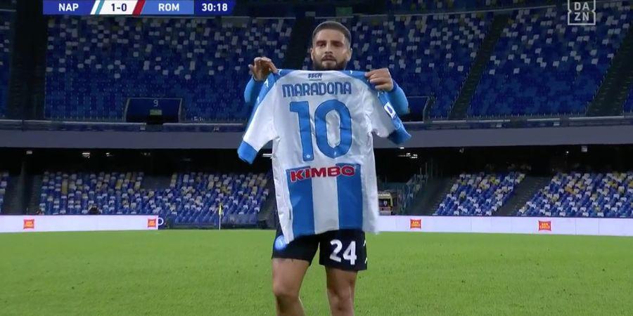 Hasil Napoli Vs AS Roma - Sang Kapten Pamer Freekick  khas Maradona, Il Partenopei Hancurkan Serigala Ibukota di Laga Emosional