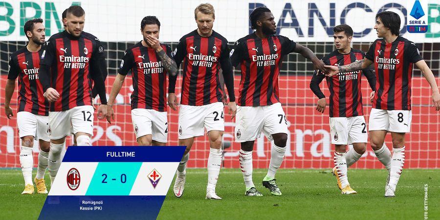 Hasil dan Klasemen Liga Italia -  AC Milan Nyaman di Puncak dengan Keunggulan 5 Poin, Juventus, Napoli dan AS Roma Sejajar