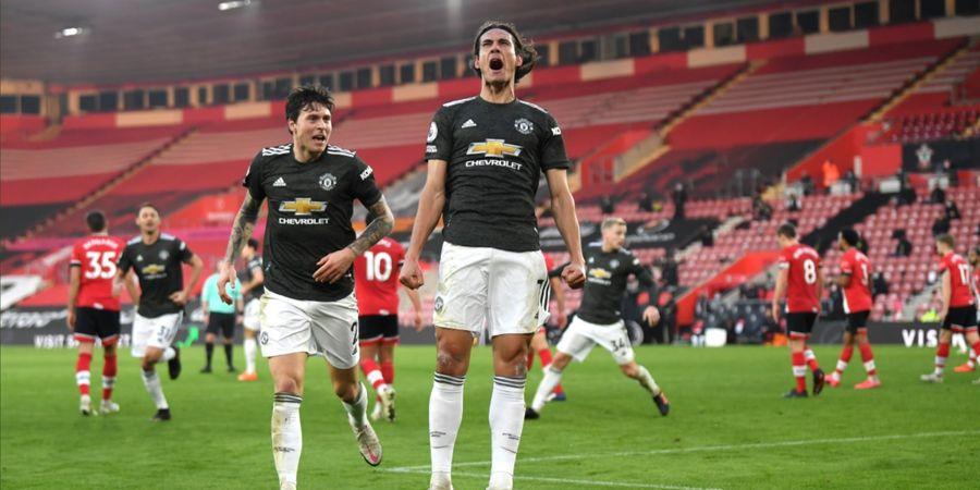 Gary Neville Tak Kaget Lihat Edinson Cavani Jadi Pahlawan Manchester United