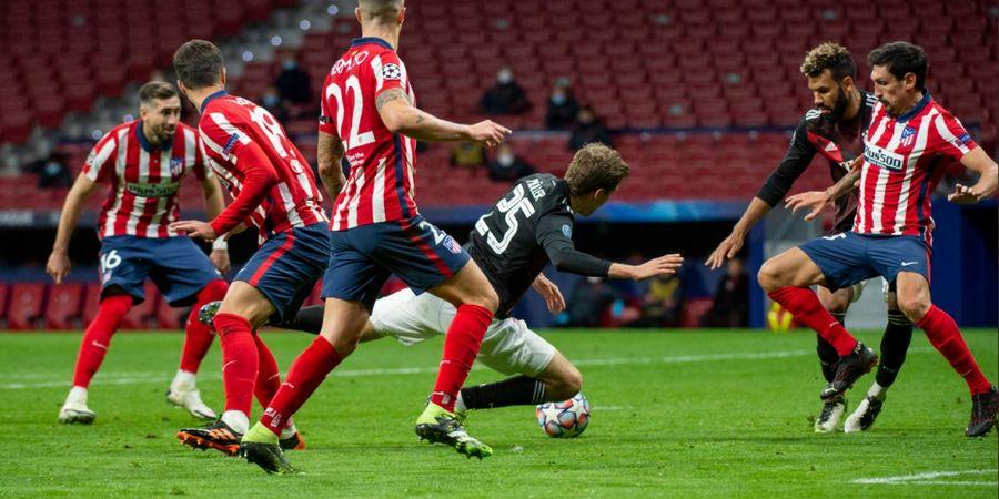 Hasil Liga Champions - Gol Penalti Bayern Muenchen Paksa Atletico Madrid Habis-Habisan di Laga Terakhir Grup A