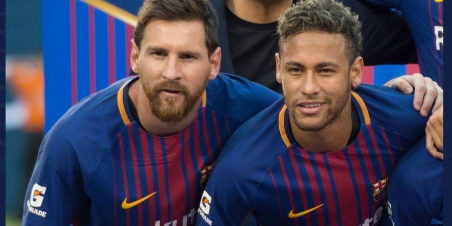 Lionel Messi Diduga Bertahan, Neymar Ogah Perpanjang Kontrak