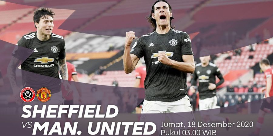 Link Streaming Sheffield United Vs Manchester United, Pekan 13 Liga Inggris