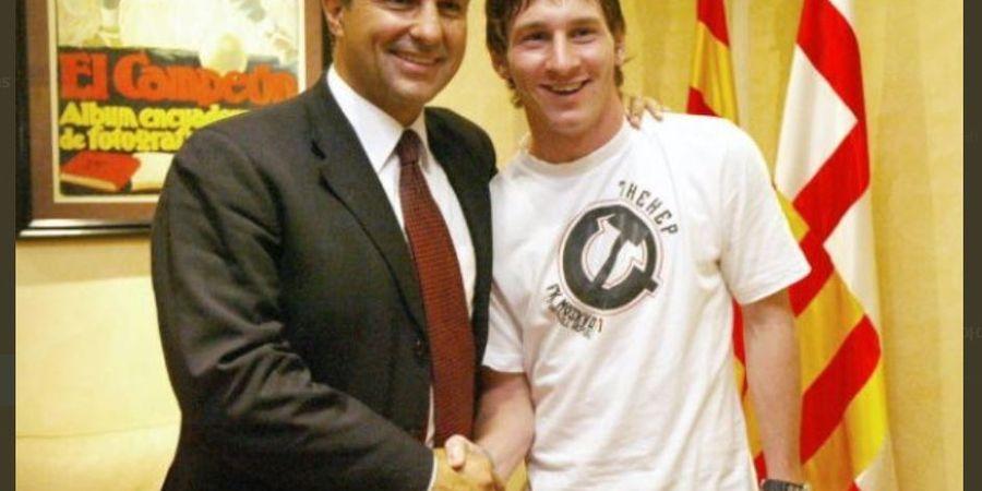 Usik Lionel Messi, Kandidat Presiden Barcelona Ini Beri Peringatan ke PSG