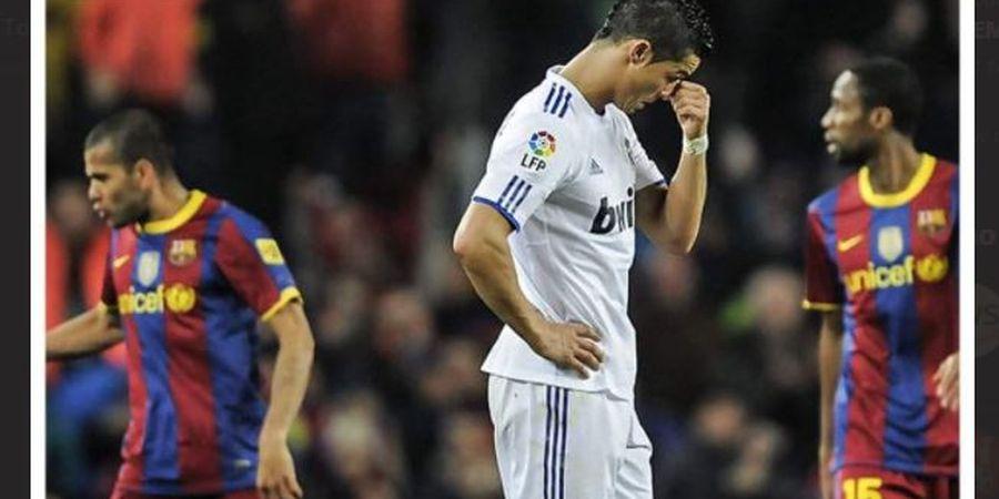 Ronaldinho Ternyata Jadi Penghalang Cristiano Ronaldo ke Barcelona
