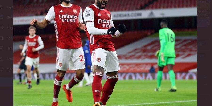 Hasil Liga Inggris - Akhirnya Menang Juga, Arsenal Lumat Chelsea dan Menjauh dari Zona Degradasi