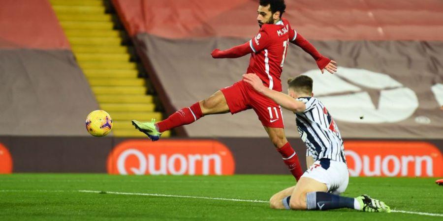Hasil Babak I Liverpool Vs West Bromwich Albion - Alisson Becker Dibuat Nganggur, Si Merah Unggul 1-0