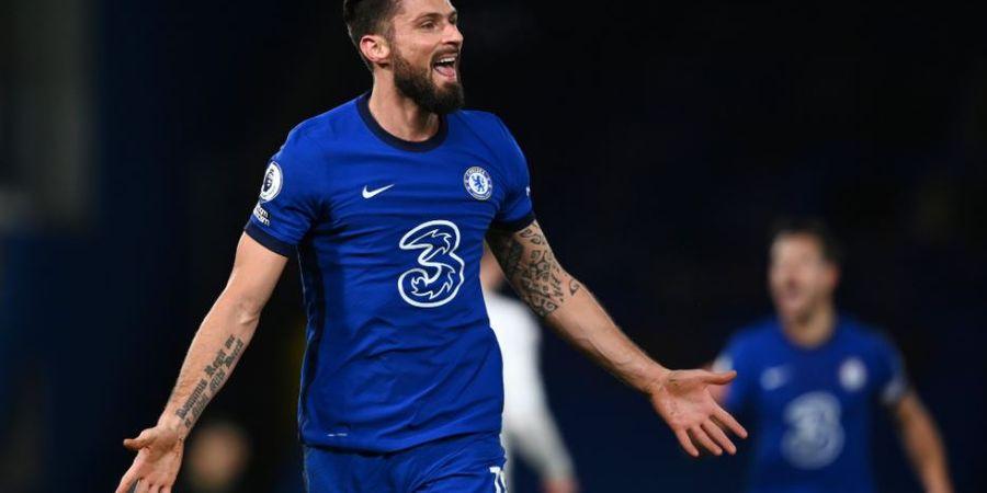 Chelsea Vs Manchester City - Olivier Giroud Soroti Satu Pemain