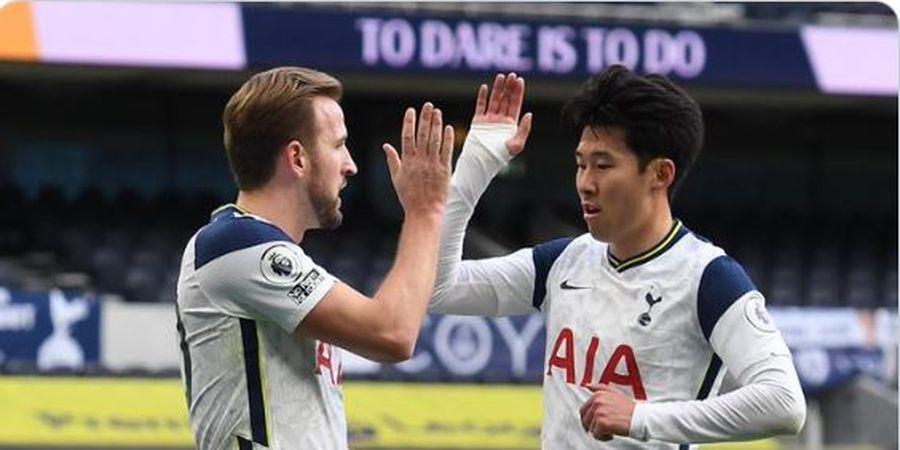 Hasil dan Klasemen Liga Inggris - Kane-Son Samai Duet Terbaik dalam Sejarah Premier League, Tottenham Acak-acak Zona Liga Champions